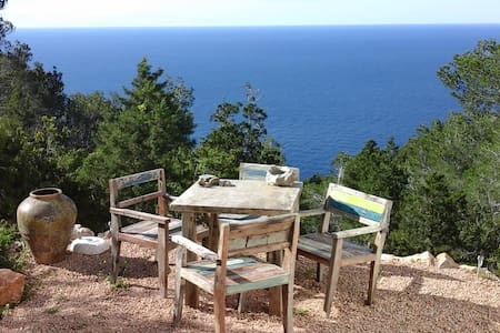 Rustic loft with garden & sea view - Sant Miquel de Balansat - ลอฟท์