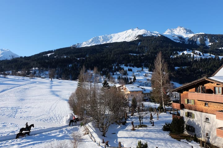 Cosy Chalet in the Heart of Davos Ski Region - Klosters-Serneus - Apartamento