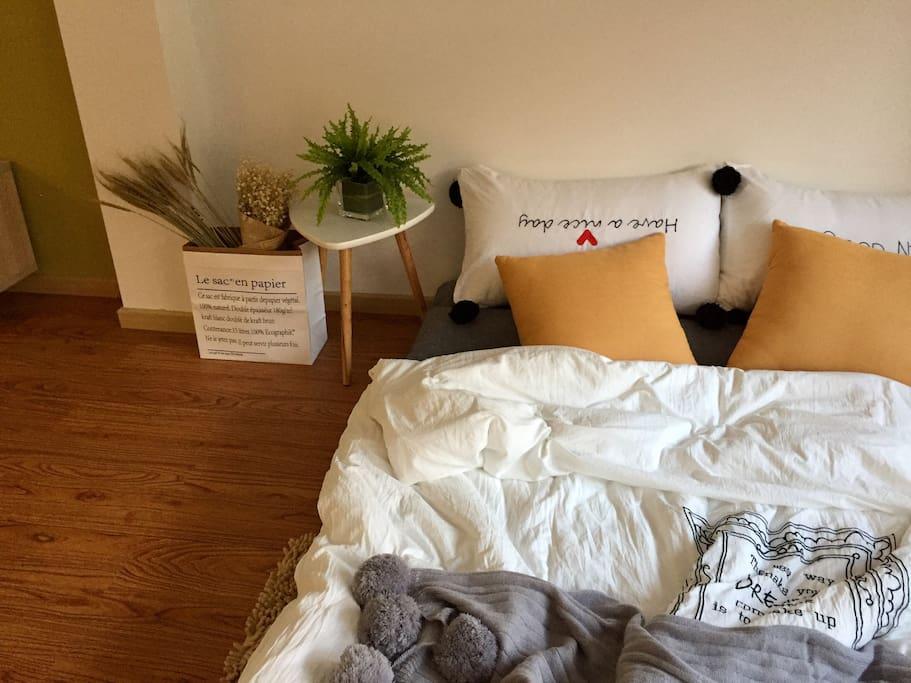 舒适慵懒的榻榻米沙发床~