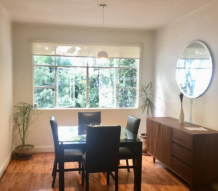 Beautiful and peaceful apt in the heart of Polanco