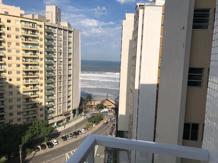Apto com Vista para o mar - Pitangueiras - Guarujá
