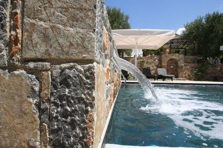 Villa Castello with Sea view and wonderfull Pool - Agios Nikolaos