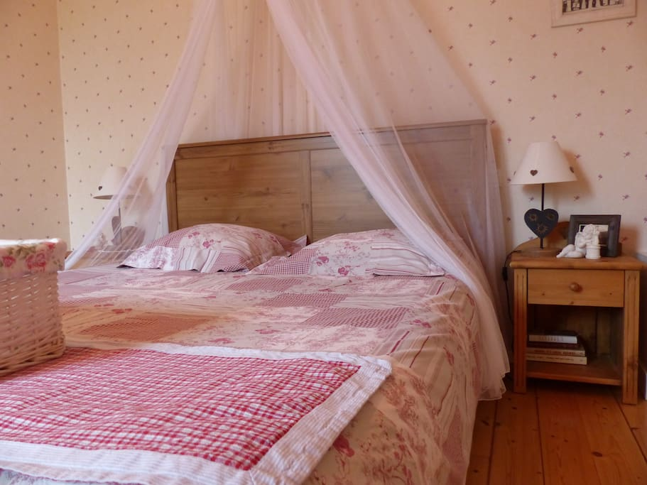 Chambre principale avec lit de 160