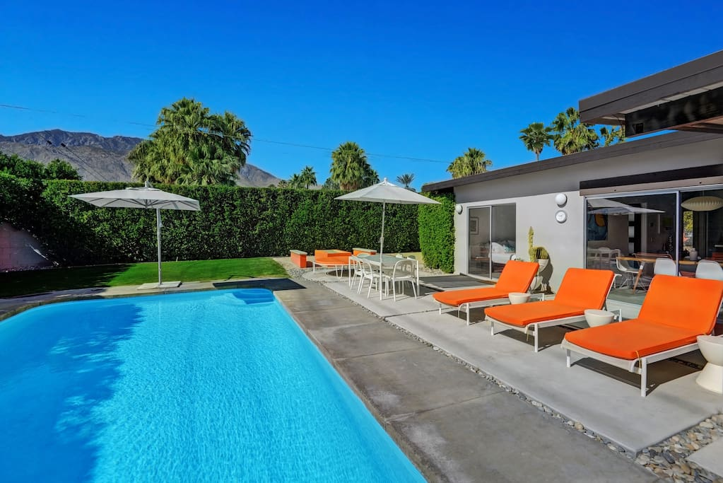 Modern Hideaway Houses For Rent In Palm Springs