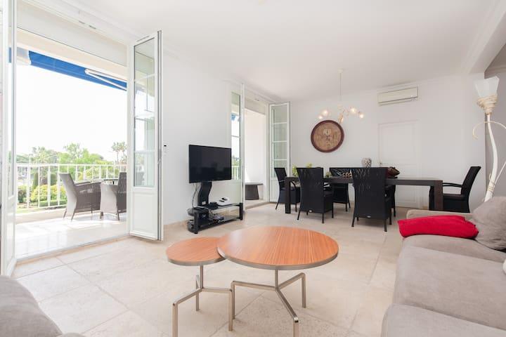 Luxury apartment - La  Croisette - 3 bedrooms