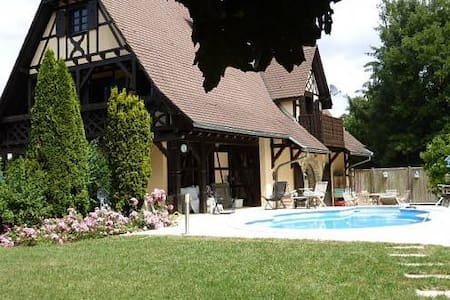 Idyllic Alsace retreat on the Swiss/Basel border - Hagenthal-le-Bas - 独立屋