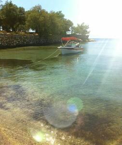 Wonderful villa on a great beach - Elia Sithonia Chalkidiki