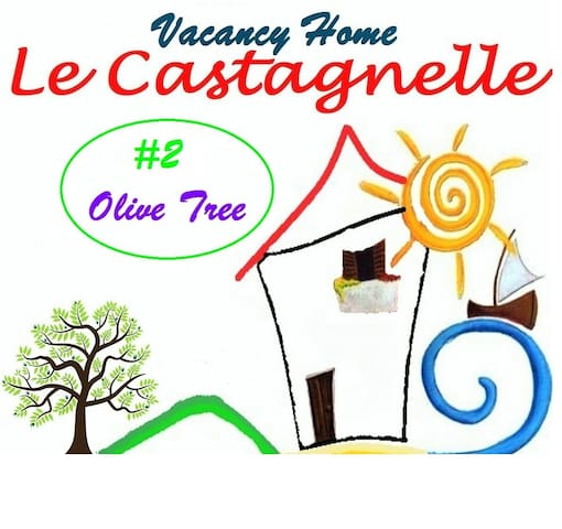 "Vacancy Home #2 ""Olive Tree"" Apart - Torchiara - Apartemen"