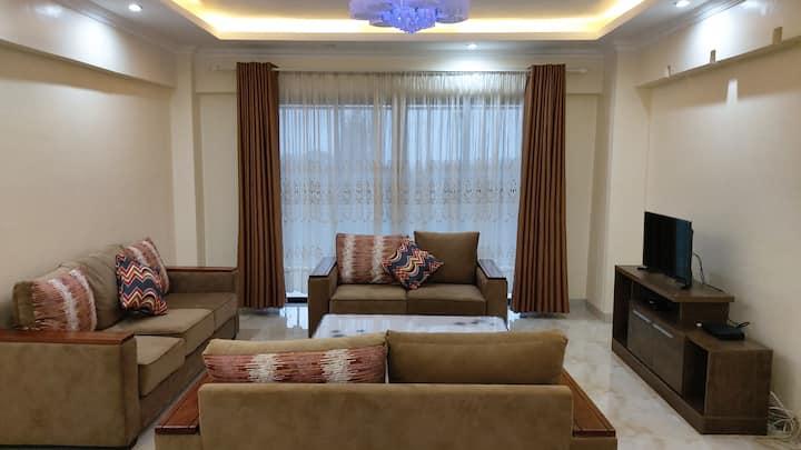Beautiful & modern 3 bedroom apartment in Nairobi