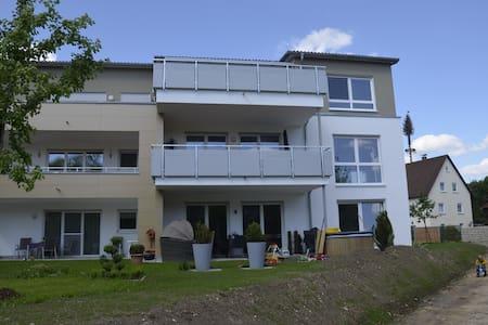 Zentral gelegene Wohnung im Grünen - Hüttlingen