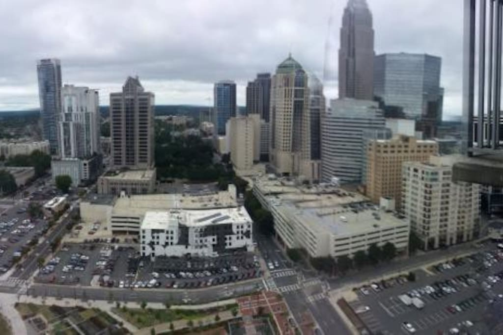 beautiful views of uptown charlotte apartments for rent