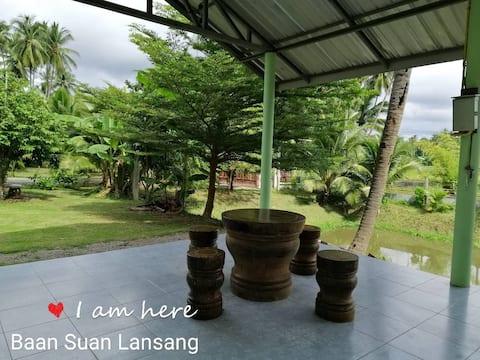 BaanSuanLansang Farmstay_ private bedroom