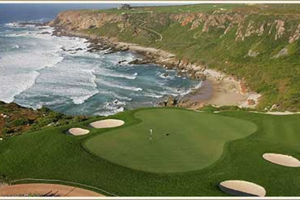 Golf Course and Private Beach