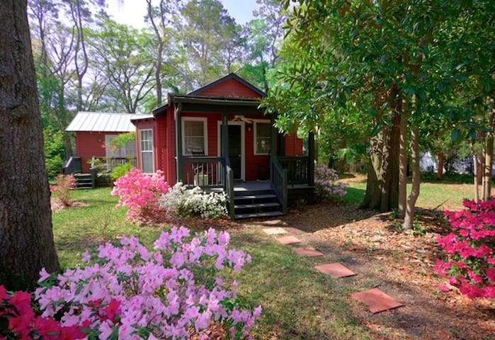 Little Red Cottage in Pigeon Pt. - Beaufort - Huis