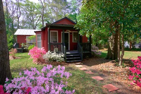 Little Red Cottage in Pigeon Pt. - Casa