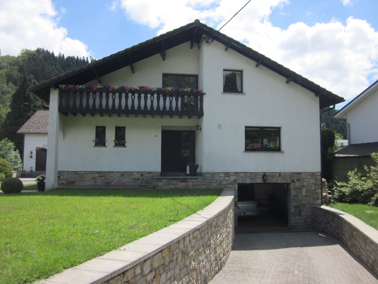 façade avant de la maison