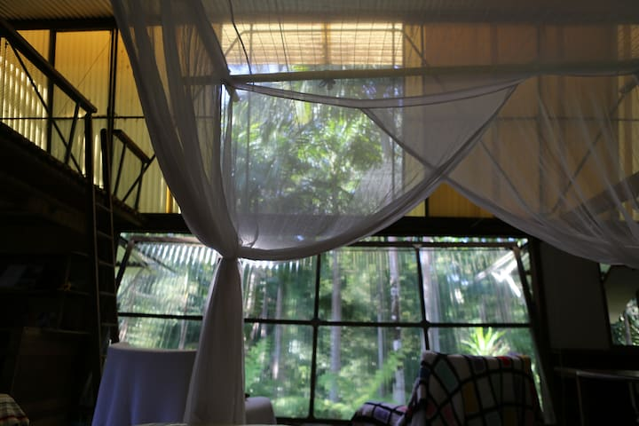 River Room, Bellingen Treehouse - Gleniffer - ツリーハウス