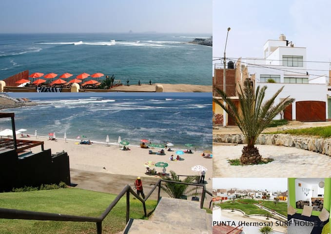 Punta (Hermosa) SURF House - Lima - Dům