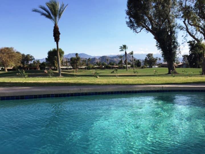 Golf Course Villa w. private pool, spa, views