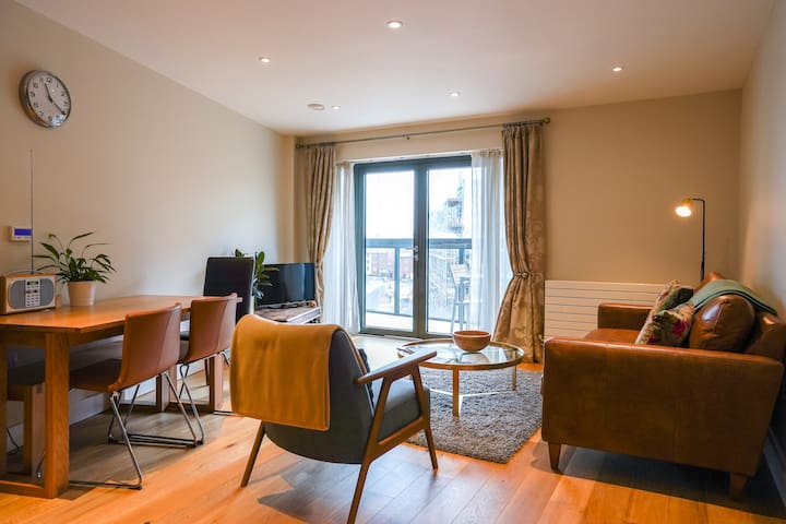 1Month Disounts Availble!Wapping Wharf Apt+Balcony