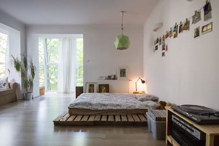 Bright flat in a city centre - Lodz