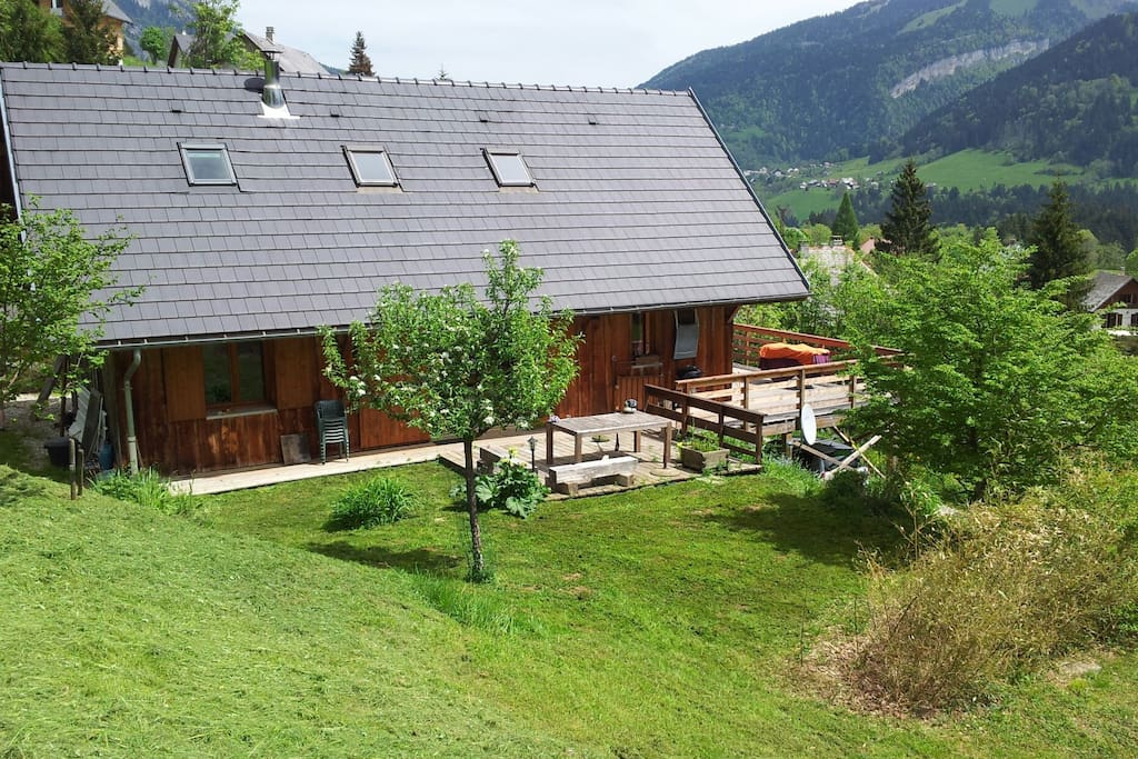 comfortable chalet in chartreuse in affitto a de chartreuse rodano alpi