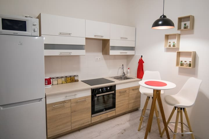 Sweet Home - Fiatalos stúdió apartman
