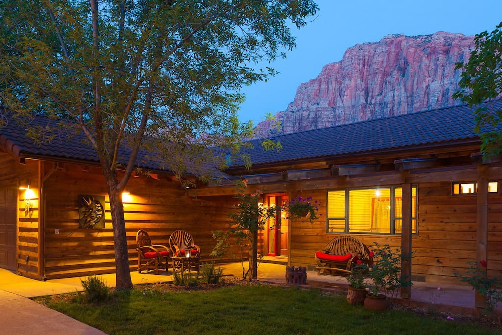 Nama stay vacation home zion utah houses for rent in for Cabin zion national park