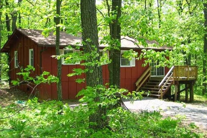 """Hot Tub Heaven #1 - Cabins for Rent in Linden, Virginia"