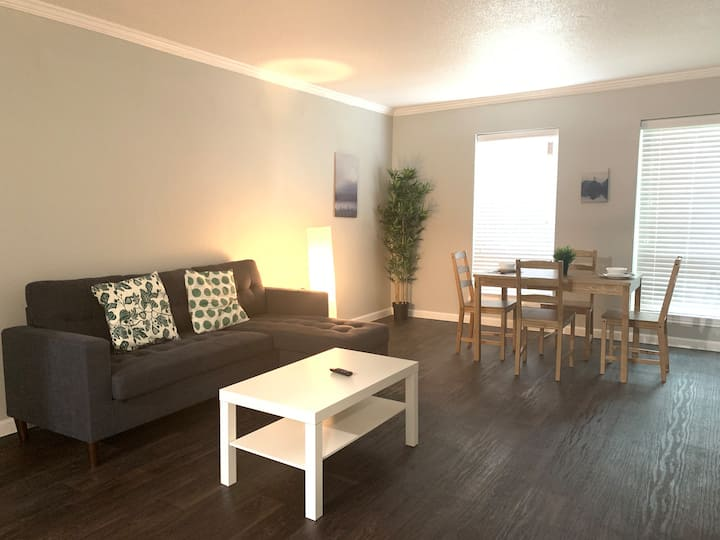 ⭐️New Listing| 🧘♀️ 🧘♂️ Tranquil 1Bed1Bath Med Ctr Area⭐️