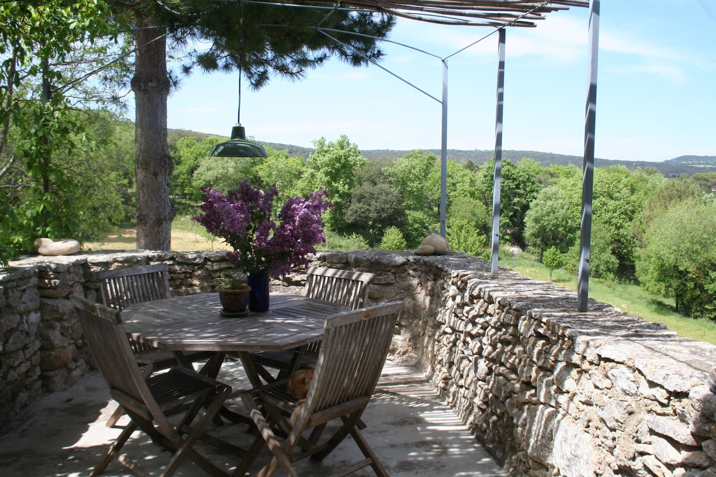 the terrace in lilacs time