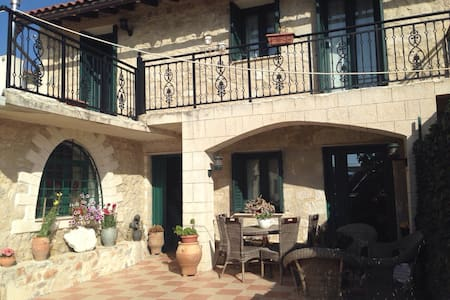 Renovated Stone house - Preveliana, Heraclion - Hus