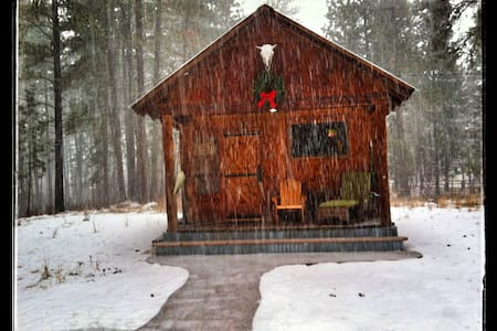 Owl's Nest Studio Cabin - Winthrop - Blockhütte