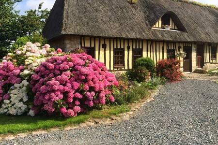 Chambres dans chaumière normande - Paluel