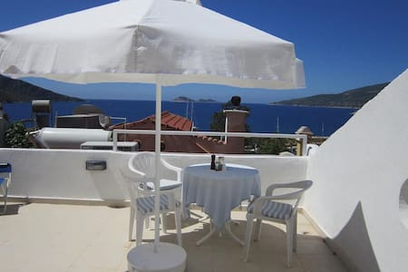 Old Village Apartment with Sea View - Kalkan