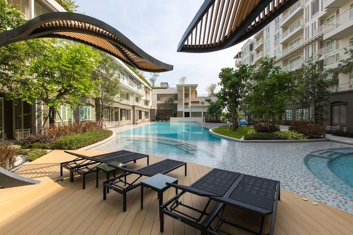 Foreigner Friendly Apartment in Hua Hin near Beach