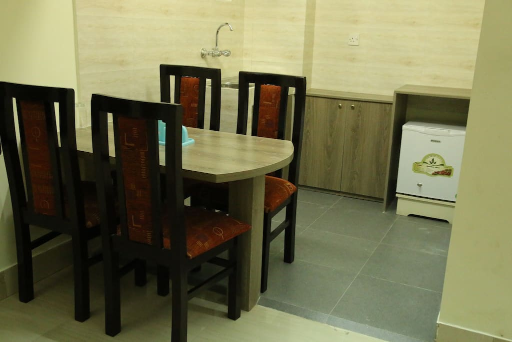 Dining area with Kitchenette