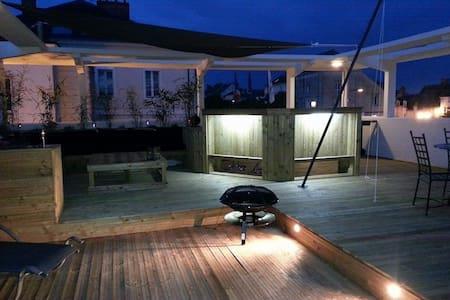 Moderne, spacieux...terrasse unique - Les Ponts-de-Cé - Huoneisto