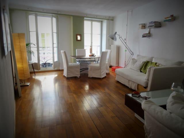 Spacieux appartement, vieille ville - Vevey - Apartemen
