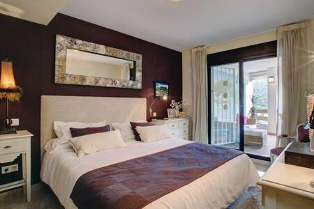 Luxury apartment near Marbella.