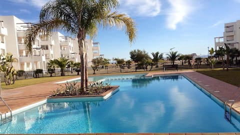 1 BEDROOM AVAIL. IN GOLF APARTMENT WITH POOL VIEW
