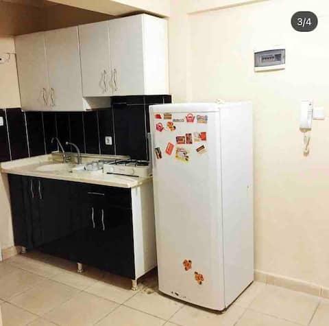 Apartamento con aire acondicionado en Serinyol, impecablemente limpio