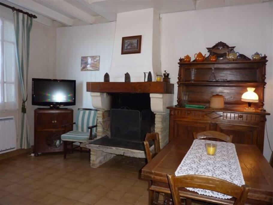 Le salon salle a manger