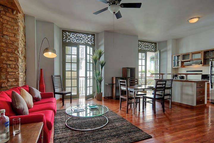 Historic apartment in Casco Viejo - Panama City - Daire