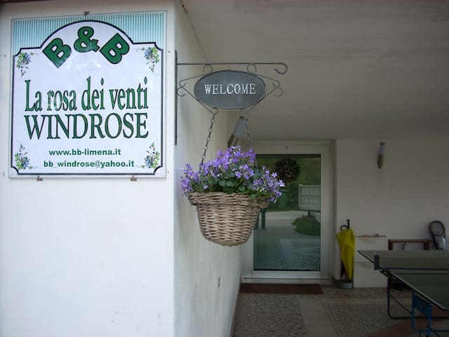 B&B Alla rosa dei venti -WINDROSE  - Limena - Bed & Breakfast