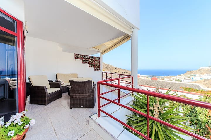 Apartment with ocean view and wifi - Puerto Rico - Apartamento