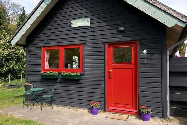 in het bos:vakantiehuis De Vrijheid - Diessen
