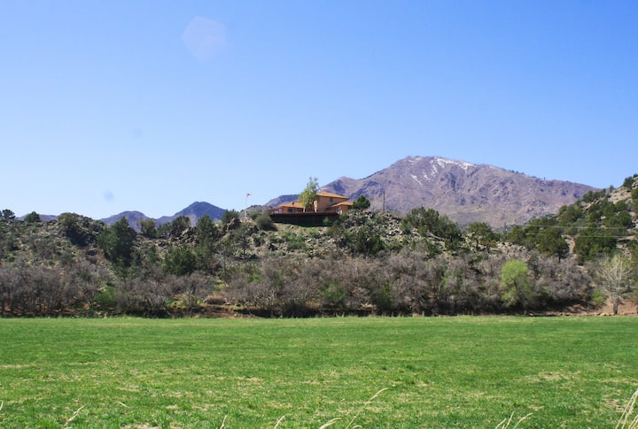 Enjoy the privacy of our 50 acre ranch!