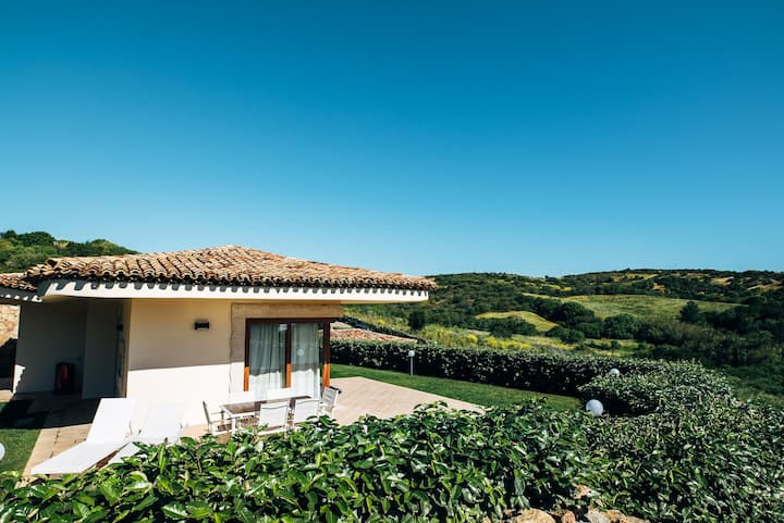 Vacation Home Villa Piana with Stunning Sea and Mountain Views, Wi-Fi, A/C, Terrace & Garden; Parking Available, Pets Allowed