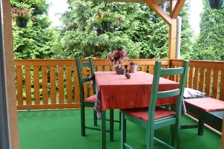chata u lesa nedaleko Prahy - Říčany